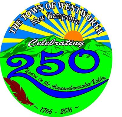 Wentworth 250th logo 1